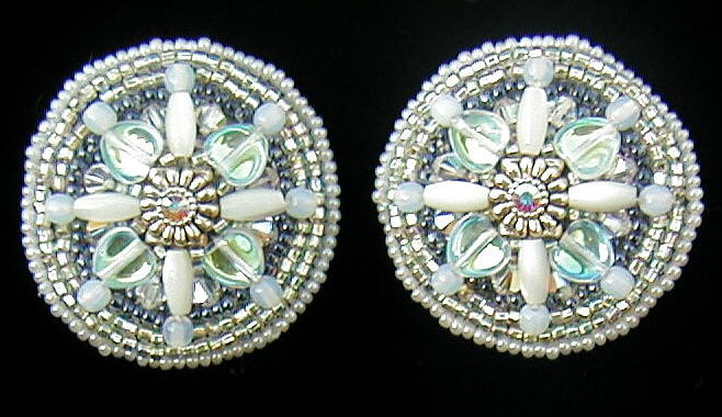 Crystal Bridle Rosettes